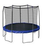 Springendes Bett (Trampoline) mit 6 Beinen