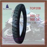 Lange Lebensdauer-Motorrad-inneres Gefäß des ISO-Nylon-6pr, Motorrad-Reifen 300-17, 300-16
