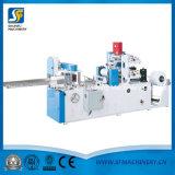 Máquina de la servilleta con los colores dobles que graban la maquinaria