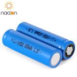 14500 600mAh 3.2Vの再充電可能なLiFePO4電池