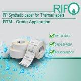 BOPP Film-Materialien für thermische Übertragung beschriftet umweltfreundliches BPA frei
