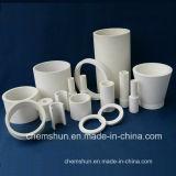 Al2O3アルミナの中国の製造業者からの陶磁器の管のくねりの管のライニング