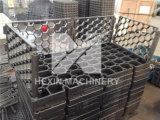 皿をスタックする中国の精密鋳造ローラー炉の皿