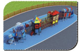 Apparatuur van de Oefening van de Speelplaats van Playsets van kinderen de Openlucht hd-017A