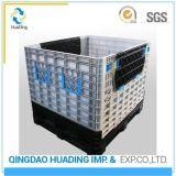 Armazenamento de recipientes de paletes de plástico dobrável caixas dobráveis