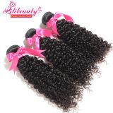 Weave malaio Curly 16inches Curly profundo do cabelo humano