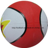 اثنان ألوان [هيغقوليتي] مطاط كرة سلّة