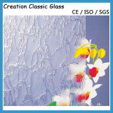3-8mm 색을 칠한 장식무늬가 든 유리 제품