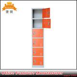 Cacifo vertical das portas do aço seis do projeto do baixo preço