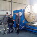 Machine lourde horizontale C61250 de tour de précision de haute performance