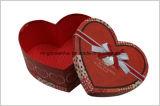Chocolate caliente de la dimensión de una variable del corazón de la venta/rectángulo de empaquetado del regalo de papel del caramelo/de la torta