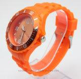 Vigilanza Analog del Wristband del silicone su ordinazione per il regalo di promozione