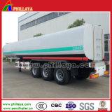 半トレーラーのための3axles大型トラックの石油燃料タンク