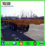 2 Axle/3 As 40 ' Aanhangwagen van de Container van het Skelet van de Chassis van de Container de Semi