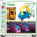 Plastic Leuk het Winkelen van de Jonge geitjes van de Supermarkt van de Auto van het Stuk speelgoed Karretje