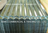 Folha de perfil SGCC Sgch Folha de cobertura de ondulação galvanizada Ce Envolvido PVC Membrana impermeável / Folha de cobertura