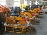 Benzin-/Treibstoff-Fahrt auf konkrete Trowel-Maschine mit dem Überlappen von Gyp-846