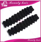 Unverarbeitete Jungfrau-Haar-Menschenhaar-Extensions-weiche brasilianische Haar-Webart-Bündel der Jungfrau-brasilianische Haar-Karosserien-Wellen-4PCS brasilianische