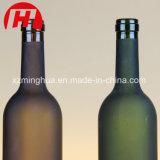 750ml garrafas de vinho de vidro fosco Vodka garrafas de vidro