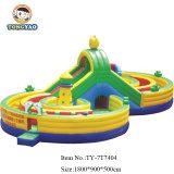 Lustiger populärer federnd aufblasbarer Spielplatz für Kinder (TY-7T7402)