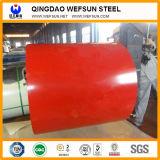 Bobines enduites par couleur galvanisées plongées laminées à froid/chaudes de zinc de HDG/Gi/Secc Dx51 de PPGI d'acier