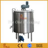 Tanque de mistura do misturador do armazenamento do aço inoxidável para o creme da pasta