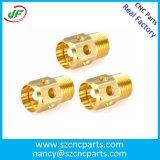 精密CNCアルミフライス加工、自動加工回転部品