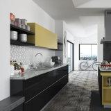 Guangzhou Manufacturer Modern Lacquer Wooden Modular Kitchen Cabinets (OP15 - L06)