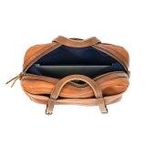 Мода дизайн 13дюймов ноутбук загар кожи Messenger портфель для бизнеса