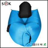 Fast Air Filling Outdoor Travel 210t Nylon Ripstop gonflable Folding Lamzac Hangout Sleeping Lazy Bag Sofa