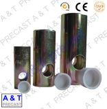 Piezas de la construcción que levantan el socket con la barra transversal prefabricada