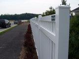 Clôture de jardin en PVC