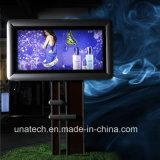 Полюса рекламы и светодиодной подсветкой баннер Flex ПВХ ткани Mega дорожного освещения Metail окно для установки вне помещений
