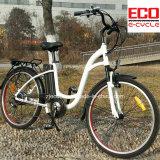 女性のためのElectric Bicycleリチウム電池および都市シリーズ