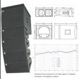 Sub-BasSysteem van de Serie van de Lijn van Cvr het PRO w-82b/W-15bp