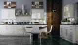 現代純木の高品質の標準食器棚#256