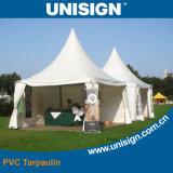 Anti-UV revestido lona de PVC para Tent