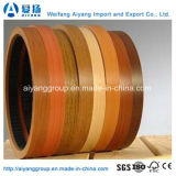 2mm Woodgrain Furniture pvc Lipping voor Decoration