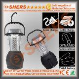 Solar6 LED-Licht für das Kampieren mit Dynamo, USB (SH-1990D)