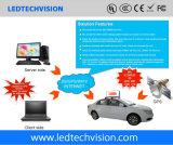 Automobile del LED che fa pubblicità alla visualizzazione P5mm impermeabile esterno
