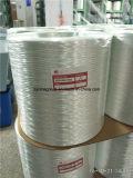 EDR 1500texのファイバーガラスの織り方の粗紡、Eガラスは、粗紡、Widingの粗紡を編む