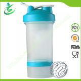 [450مل] [بروستك], بروتين خلاط رجّاجة زجاجة مع كرة ([بّ450])