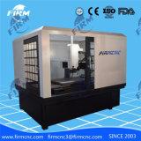 China selló el grabado de la protección que tallaba la máquina del ranurador del CNC para la medalla de la moneda de la divisa del metal