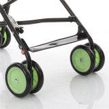 Projeto novo do carrinho de criança de bebê 2017 de pouco peso da cor verde
