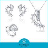 Ajuste del canal de venta caliente joyas de plata esterlina 925 (J-0116)