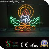 2D da estrutura de LED de ferro metálico luz luz Motif decorações de Rua