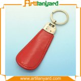 Keychain de cuero de calidad superior promocional