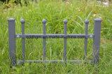Frontière de sécurité en acier garantie antirouille/antiseptique pour la clôture extérieure de jardin de fer travaillé