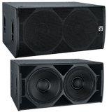 Subwoofer Baß-Lautsprecher verdoppeln 18 heller Vorbarsch des Lautsprecher-Box+Stage