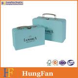 Luxuxentwurfs-Wein-Speicher-verpackender Papiergeschenk-Kasten mit Metallgriff